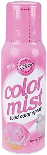 Wilton 710-5505 Food Decorative Color Mist, Pink