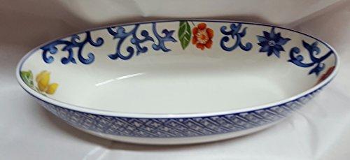 Lauren Ralph Lauren Dinnerware, Mandarin Blue Oval Servin...