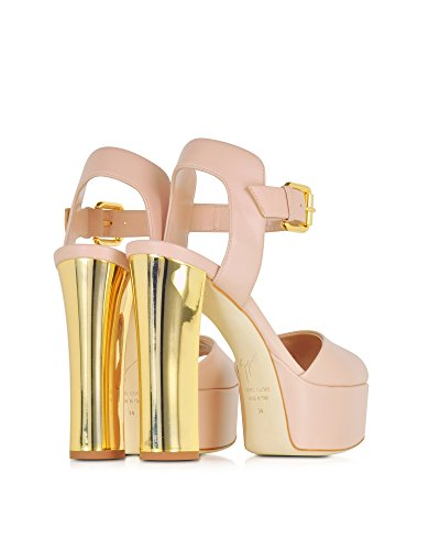 Rose Cuir Femme Talons Design Giuseppe Zanotti À E60207002 Chaussures wqXnI7