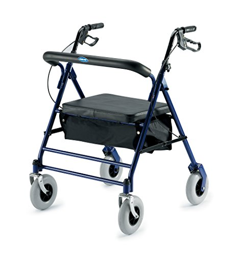 Invacare 66550 Bariatric Rollator 500lb Capacity Flip-Up ...