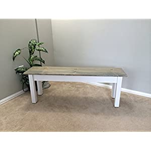 """Ezekiel and Stearns Cottage Bench (48"""")"""