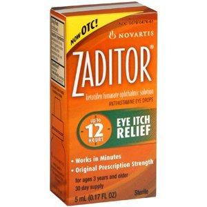 - ZADITOR OPTH SOLUTION 0.025% 5ML