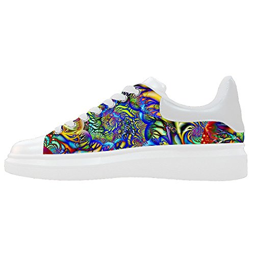 Custom Women's Shoes Spiral New Sneaker Canvas Thick Bottom