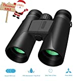 Cheap Whew 10×42 Compact HD Binoculars for Adults, Portable and Waterproof Binoculars with Clear Weak Light Night Vision for Bird Watching, Travel,Stargazing, Hunting, Concerts, Sports (10×42)