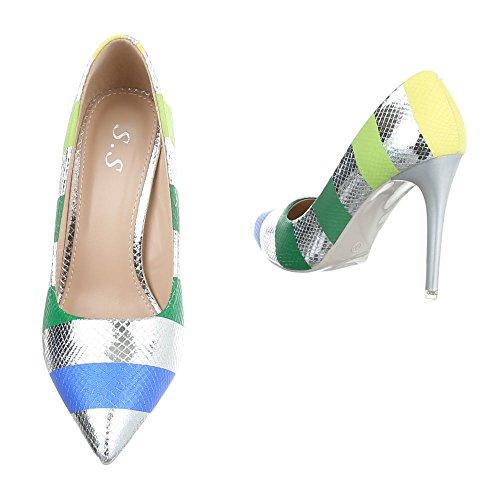 Plateau Women's Multi Design Ital Silber xFwSXqSU