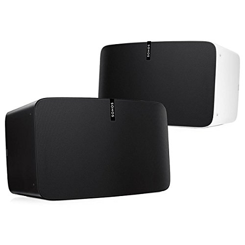 Sonos PLAY:5 Multi-Room Digital Music System Bundle (2 - PLAY:5 Speakers) - Black & White