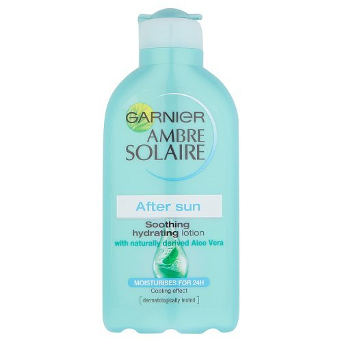 Price comparison product image Ambre Solaire Garnier After Sun Soothing and Hydrating Lotion with Natural Derived Aloe Vera 200ml