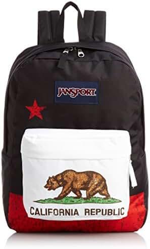 JANSPORT Cali Bear SuperBreak Backpack