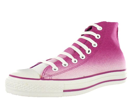 Converse Chuck Taylor Gradiated Hi Violet / White Ankle-High Canvas Fashion Sneaker - 10M 8M