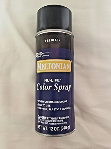 Meltonian Nu-Life Color Spray Shoes Boots Leather Vinyl Plastic 12oz 615 Black (Meltonian Color Spray compare prices)