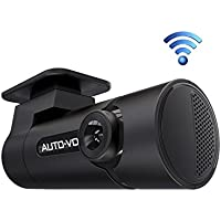 Auto Vox WiFi Dash Cam D6 Mini HD Dashboard Camera (Black)
