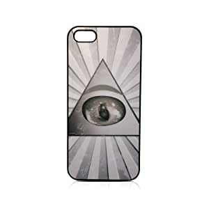 Illuminati Pyramid Eye Secret Society Iphone 5/5s Custom Case