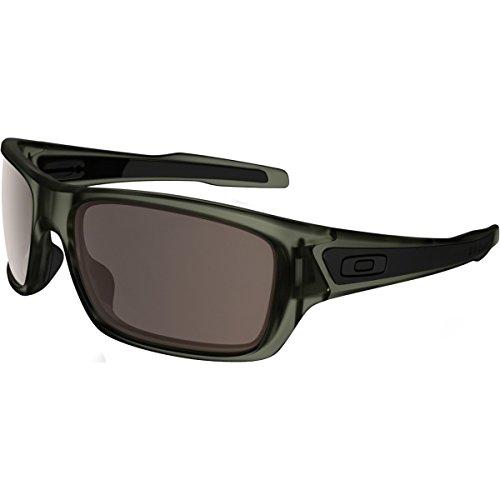 Oakley Men's Turbine OO9263-19 Wrap Sunglasses, Matte Olive Ink, 65 mm - Oakley Green
