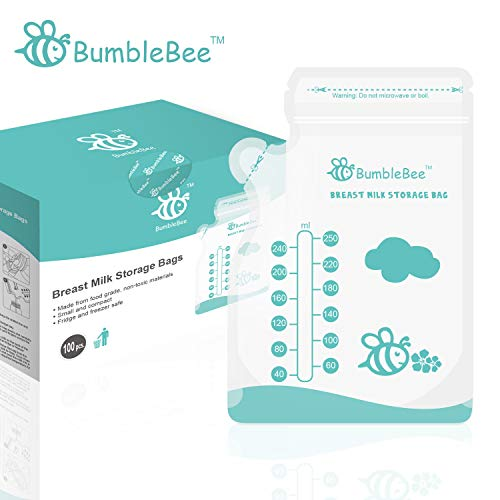 BumbleBee Breast Milk Storage Bags 100 Count