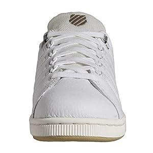 K-Swiss Men's Lozan III TT Leather Sneakers White/Khaki US 8