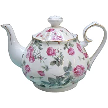 Amazon Com Gracie China Rose Chintz Porcelain 4 1 2 Cup