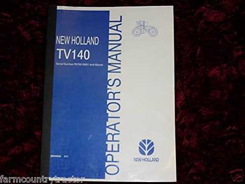new holland tv140 oem oem owners manual new holland amazon com books rh amazon com new holland l218 owners manual new holland tc34da owners manual