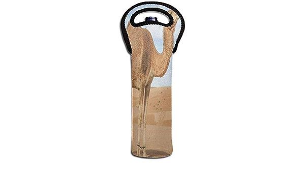 Jasmin-Shop Bolsa de Vino Camello en el Desierto 1 Botella de ...