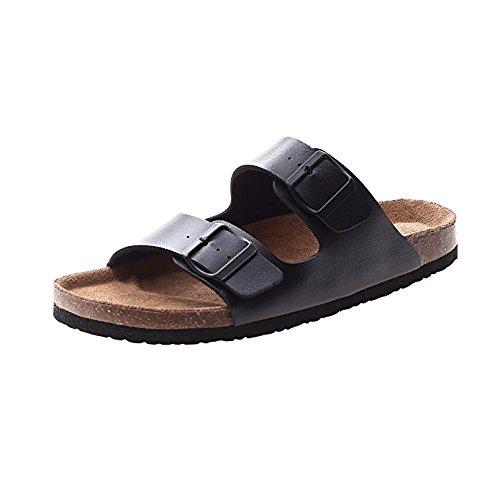 VVFamily Mens Flip Flop Thongs for Womens Slide Sandals Slip on Slipper Shoes