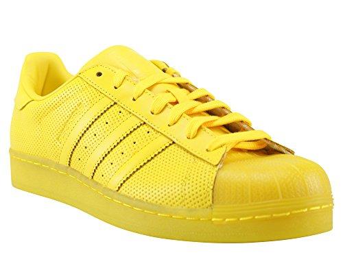 Damen Sneaker adidas Originals Superstar Sneakers Women, Gelb, 40 EU