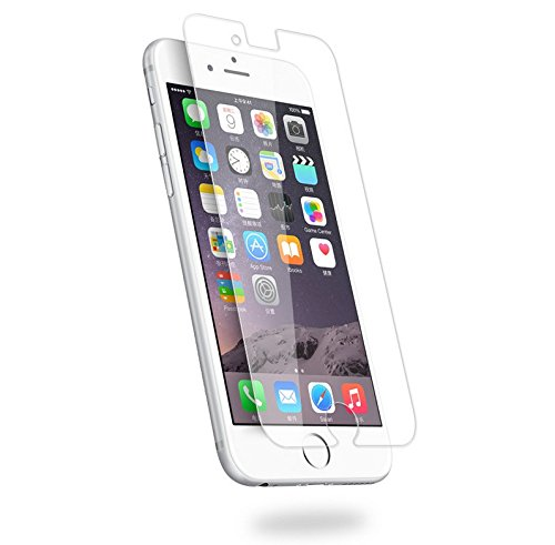 IOU Quality iPhone 7 Tempered Glass Screen Protector (Single Pack) Super Thin, Anti-Glare, Anti-Reflective & Shatterproof Protection 2.5D Round Edges & Crystal Clear HD View Best Quality (Screen Protector Single)