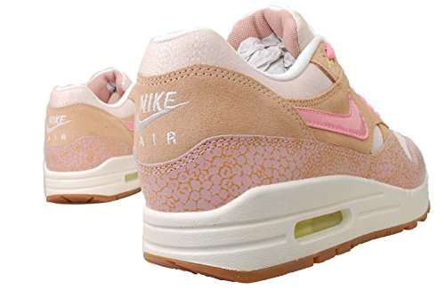 Nike Air Max 1 Suede and Mesh Pink Dusted Clay Trainer Size 9 UK recommend outlet locations free shipping outlet l6OK81s3
