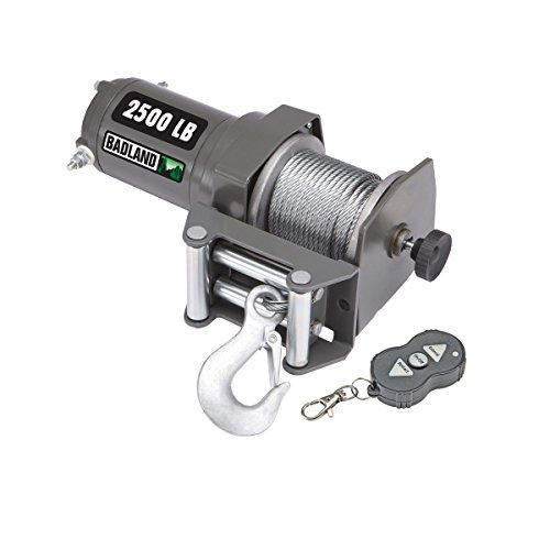 2500 lb. ATV/Utility Electric Winch with Wireless Remote ...