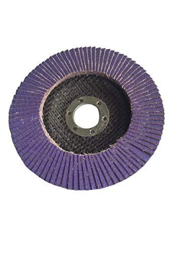 Kreher Disque /à lamelles en c/éramique Violet /Ø 125 mm Grain 80