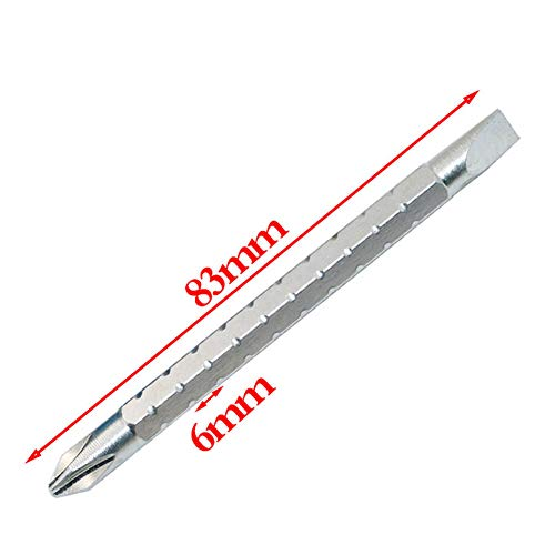 2in1 Multifunktions-Mini-tragbarer auswechselbarer Schraubendreher Hammer W/Magnetic