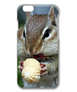 Chipmunk Eating Peanut Sakuraelieechyan Hard Protective 3D PC Case for Iphone6 plus