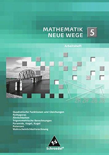Mathematik Neue Wege SI: Arbeitsheft 5