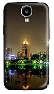 Samsung S4 Case Bangkok City At Night Lights Pond 3D Custom Samsung S4 Case Cover