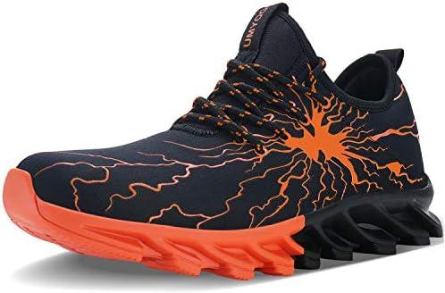 UBANG Men Stylish Graffiti Walking Slip on Fashion Running Shoes