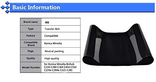 Printer Parts C224 C284 C454 C554 Compatible Transfer Belt Replacement for Konica Minolta Bizhub 224 C224E C284E C454E C227 C258 C308 C368 Ibt - (Ships from: Russian Federation) by Yoton (Image #6)
