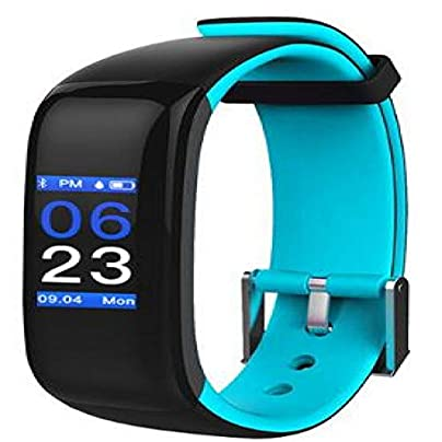ZZXXCC Waterproof Smart Band Color Display Fitness Bracelet Heart Rate Blood Pressure Monitor Smart Wristband Fitness Tracker Estimated Price -