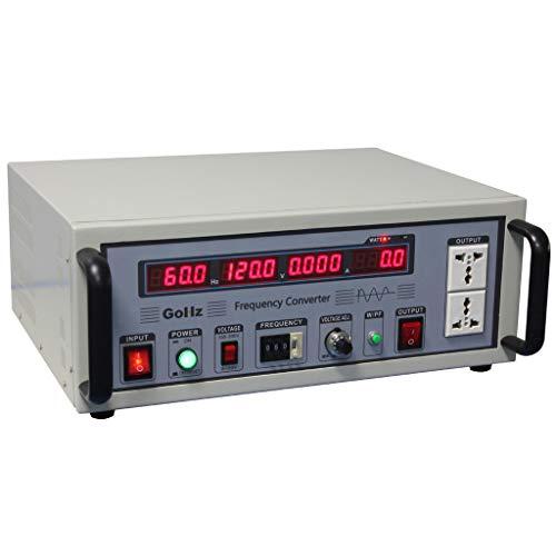 - GoHz Frequency Converter 110v/120v 60Hz to 220v/230v/240v 50Hz, 1kVA Step-down & Step-up Frequency & Voltage Converter