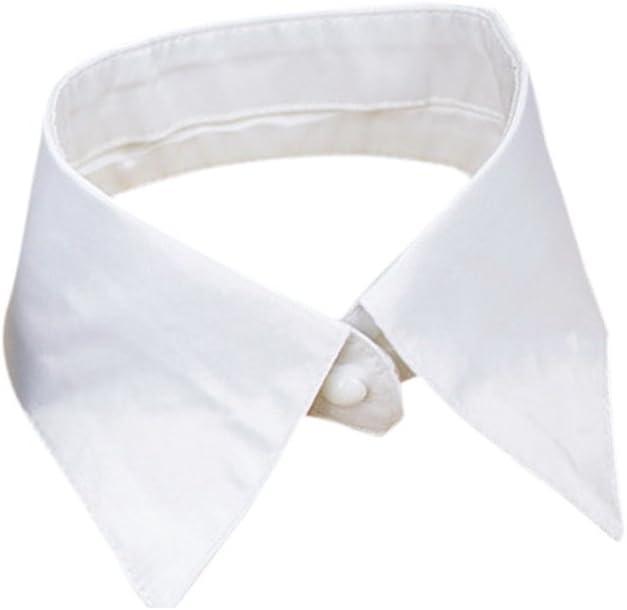 Vococal - Desmontable Ocupacional Camisa Falso Cuello Solapa / Camiseta Falso Cuello Solapa para Mujer: Amazon.es: Juguetes y juegos