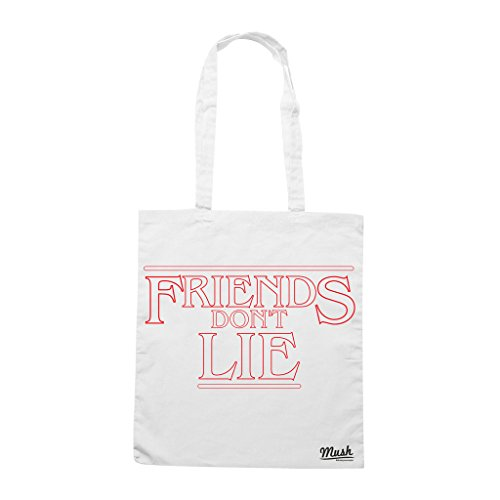 Borsa FRIENDS DONT LIE STRANGER THINGS - Bianca - FILM by Mush Dress Your Style