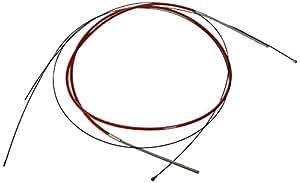 SRAM Slickwire Road - Juego de cables de freno, color rojo