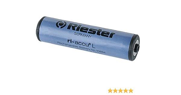 Riester 10694 Pila rec. Li-Ion 3,5V ri-accu L por cargador para por mango de baterias tipo C: Amazon.es: Amazon.es