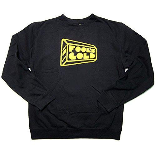 Fool's Gold: Logo Crewneck Sweatshirt - Black (X-Large)