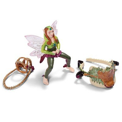 (Schleich Forest Elf Riding Set Toy Figure Without Horse)