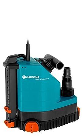 Bomba sumergible 9000 aquasensor Comfort de GARDENA: bomba de desagüe, ingeniería de sensores,