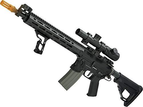 Evike EMG/Sharps Bros Jack Licensed Skull Full Metal M4 Airsoft AEG Rifle (Color: Black / 15