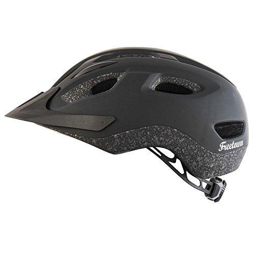Cheap Freetown Allons Allons Dynamic Cooling Temperature Fidloc Magnetic buckles Black Bike Helmet