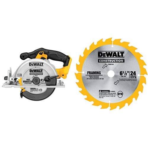 DEWALT 6-1/2-Inch 20V MAX Circular Saw, Tool Only...