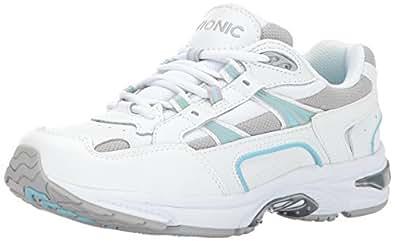 Vionic Women's Walker Classic Shoes, 5 B(M) US, White/Blue