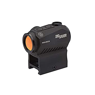 Sig Sauer Romeo5 1x20mm Compact 2 Moa Red Dot Sight, Black (SOR52001)