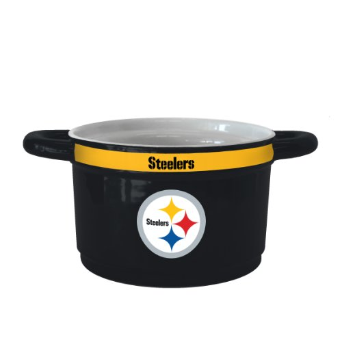 (NFL Pittsburgh Steelers Sculpted Gametime Bowl, 23-Ounce )