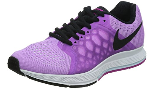 brand new e919f 16487 Nike AIR Zoom Pegasus 31 Women s Running SHOES-654486-502-SIZE-6 UK Purple   Amazon.in  Shoes   Handbags